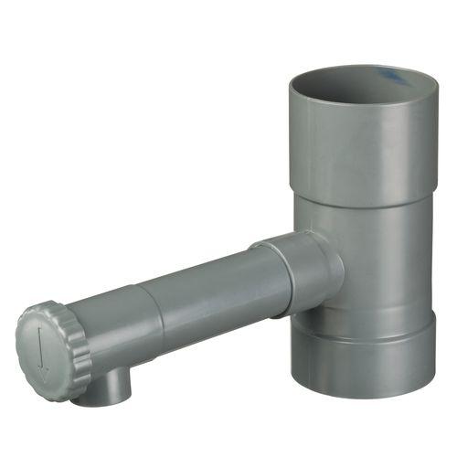 Remplisseur automatique de tonneau d'eau de pluie Nature avec bouton rotatif 17,5xØ8,5cm