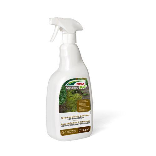 Herbicide total anti-mousse DCM Jardin d'ornement & potager prêt à l'emploi 0,75L 7,5m²