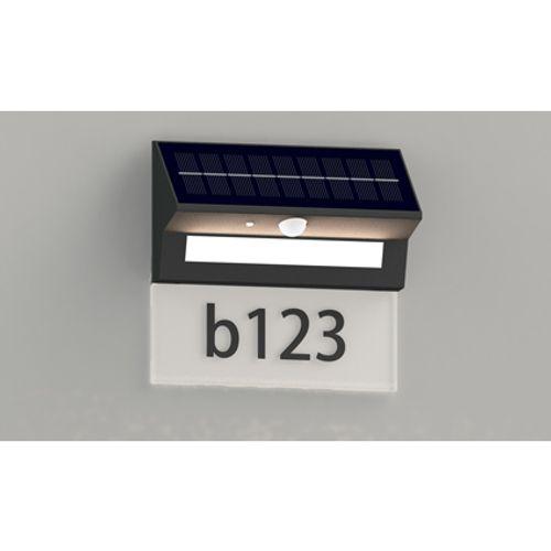 Sencys solar huisnummerverlichting