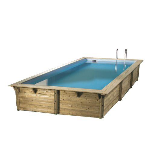 Ubbink houten opzetzwembad Azura 350x505cm