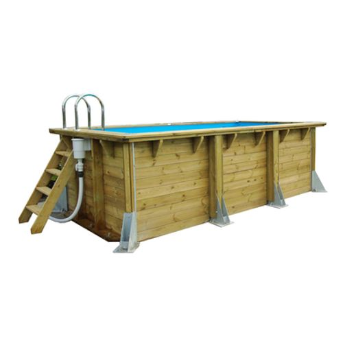 Ubbink houten opzetzwembad UrbanPool 250x450cm