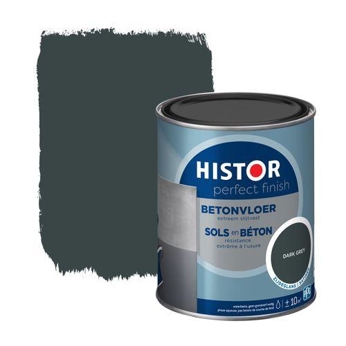 Histor Perfect Finish betonvloer zijdeglans donkergrijs 0,75L