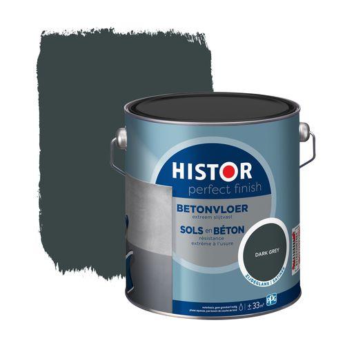 Histor Perfect Finish betonvloer zijdeglans donkergrijs 2,5L