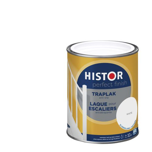 Histor Perfect Finish traplak zijdeglans wit 750ml