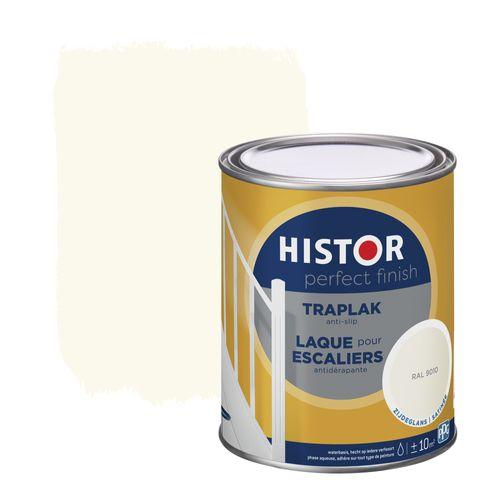 Histor Perfect Finish traplak zijdeglans RAL 9010 750ml