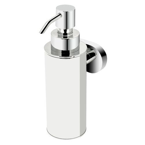 Haceka zeepdispenser Gio metaal chroom