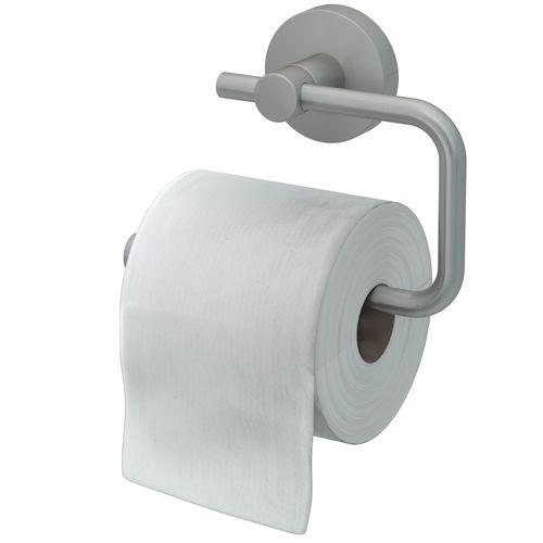 Haceka toiletrolhouder Rondi geborsteld