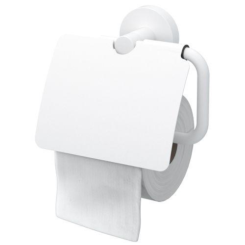 Haceka toiletrolhouder Rondi met klep wit