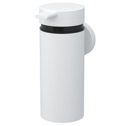 Haceka zeepdispenser Rondi metaal wit