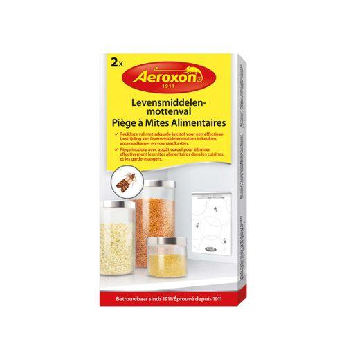 Aeroxon levensmiddelenmottenval 2 stuks