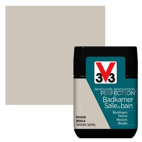 Peinture salle de bain V33 Rénovation Perfection seigle satiné 75ml