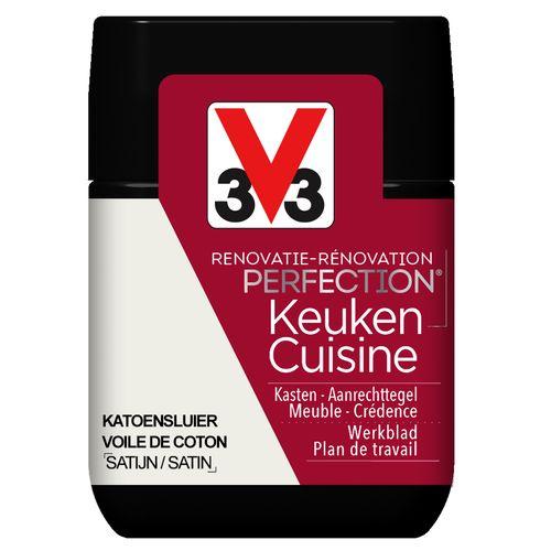 V33 keukenverf Renovatie Perfection katoensluier zijdeglans 75ml