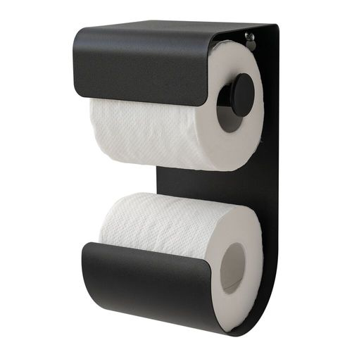 Sealskin toiletrolhouder Brix metaal zwart
