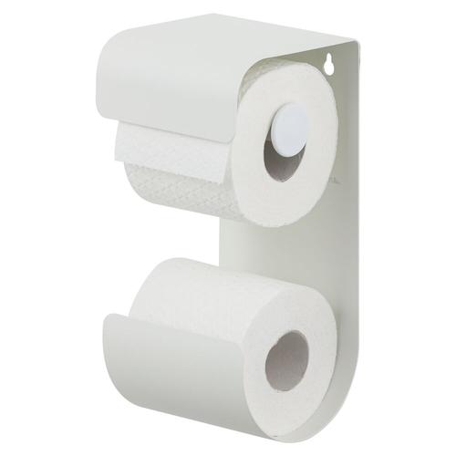 Sealskin toiletrolhouder Brix metaal wit