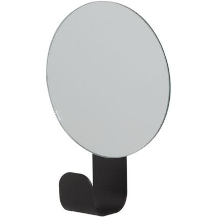 Sealskin haak Brix met spiegel zwart