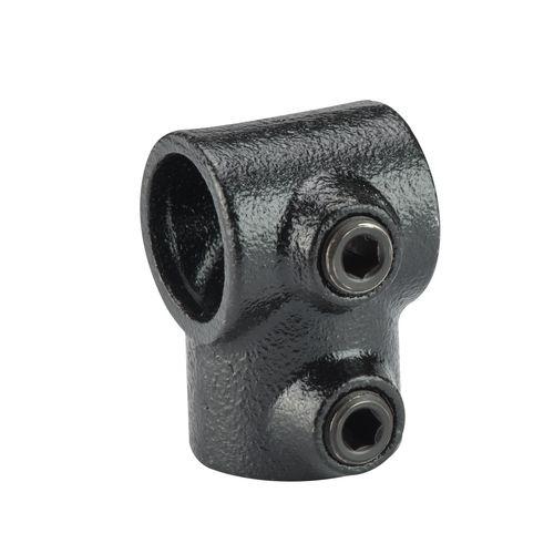 Mac Lean koppelstuk T-doorvoer zwart Ø28mm