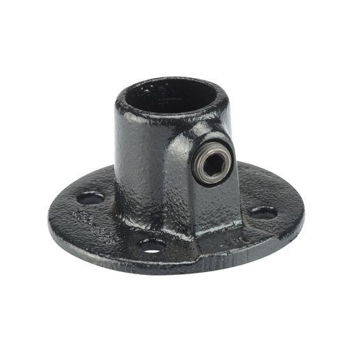 Mac Lean koppelstuk voetplaat zwart Ø28mm