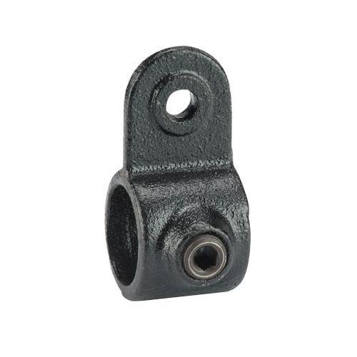 Mac Lean koppelstuk wandbevestiging zwart Ø42mm