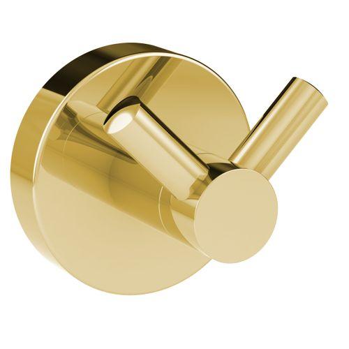 Allibert dubbele haak Coperblink goud glanzend