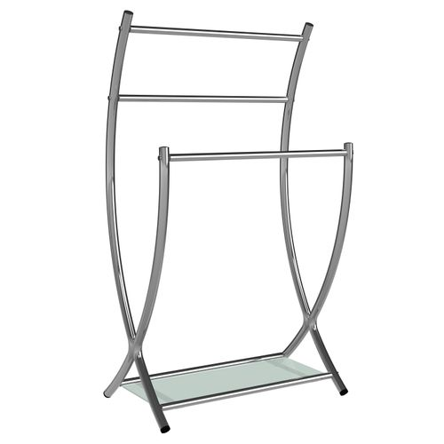 Porte-serviette Allibert Coperblink 3 barres chrome brillant