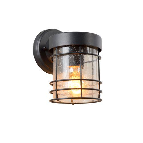 Lucide wandverlichting Keppel zwart E27