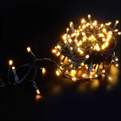 Lumières de Noël lucioles or/blanc chaud Central Park 360 lampes