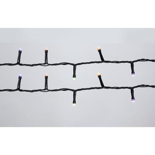 Lumières de Noël blanc chaud / multicolores Central Park 360 lumières