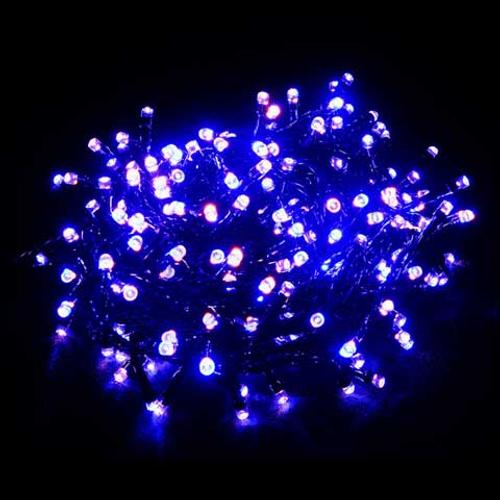 Éclairage de Noël blanc chaud/blanc bleu blanc Central Park 240 lumières