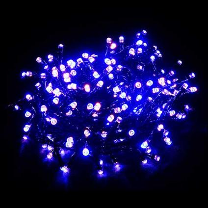 Central Park kerstverlichting warm wit/blauw wit 360 lampjes