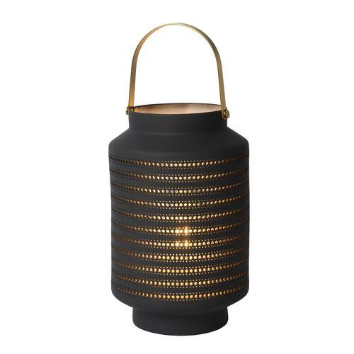 Lucide tafellamp Jamila antraciet