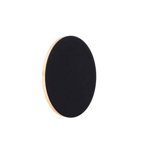 Applique murale LED Lucide Eklyps Led noire 6W