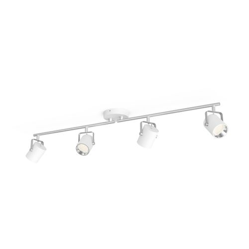 Philips spot LED Byre Sceneswitch blanc 4x4W