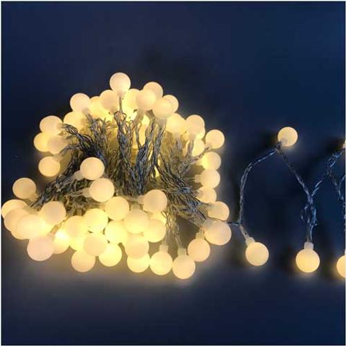 Lumières de Noël sphère Central Park