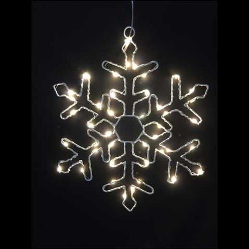 Lumières de Noël flocon de neige led Central Park