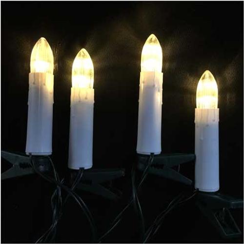 Bougie d'éclairage de Noël Central Park