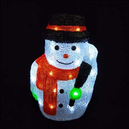 Décoration de Noël bonhomme de neige conduit Central Park