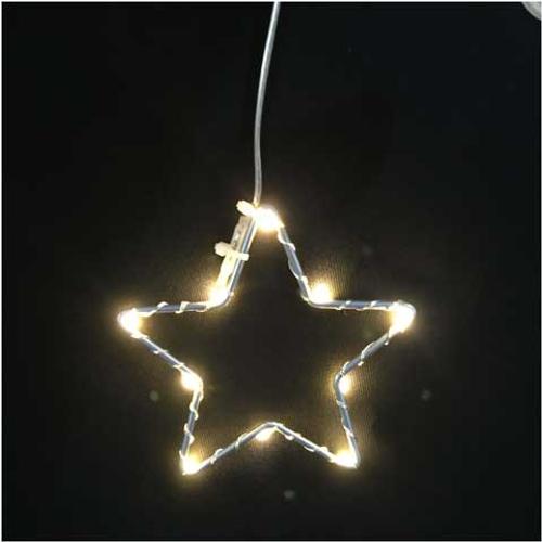 Lumières de Noël étoile 10 leds Central Park