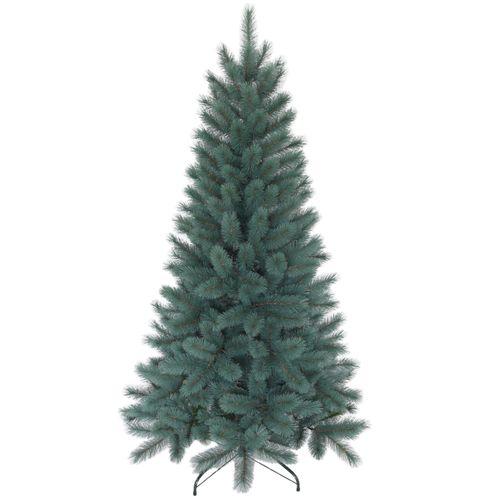 Arbre de Noël artificiel Highland bleu 210cm