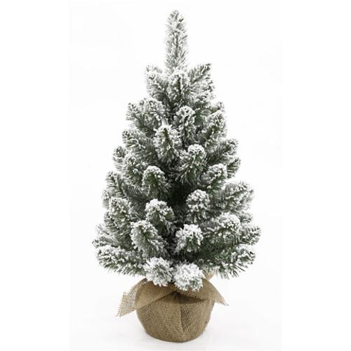 Sapin de Noël modèle de table recouvert de neige Central Park 45cm