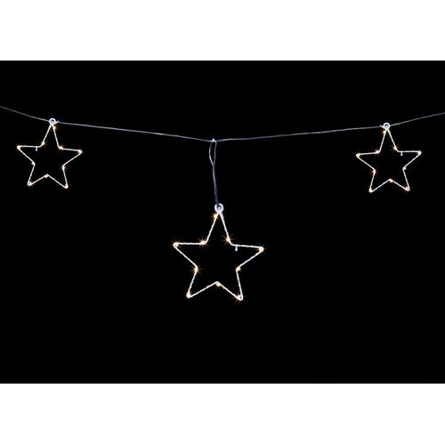 Jeu d'étoiles lumières de Noël Central Park