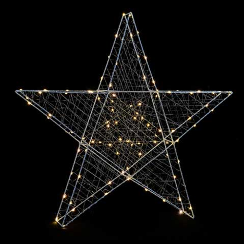 Décoration de Noël 3D étoile Central Park