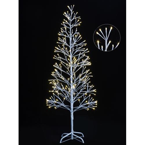 Lumières de Noël arbre blanc 1,5m Central Park