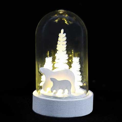 Lampe de table décoration de Noël 3 variations Central Park