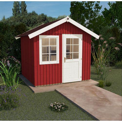 Weka tuinhuis 410 GR5 rood