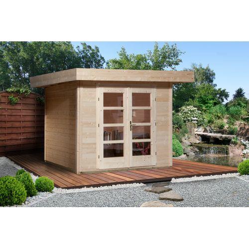 Weka tuinhuis Design 126+ GR.3 naturel 8,68m²