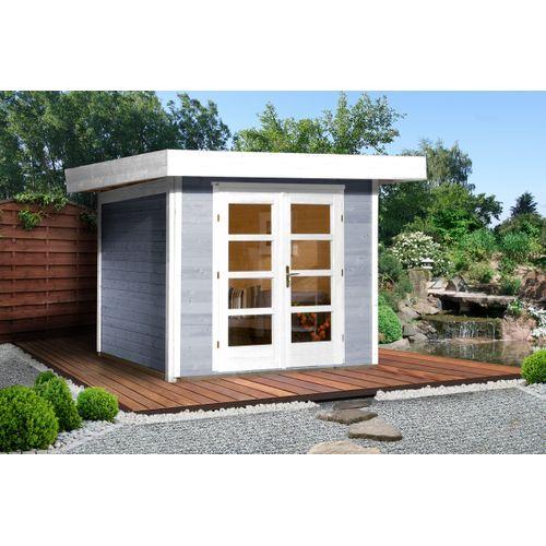 Weka tuinhuis Design 126B+ GR.3 grijs 5,53m²