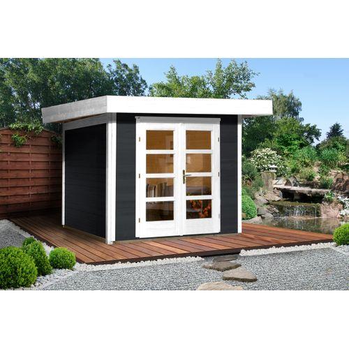 Weka tuinhuis Design 126+ GR.3 antraciet 5,53m²