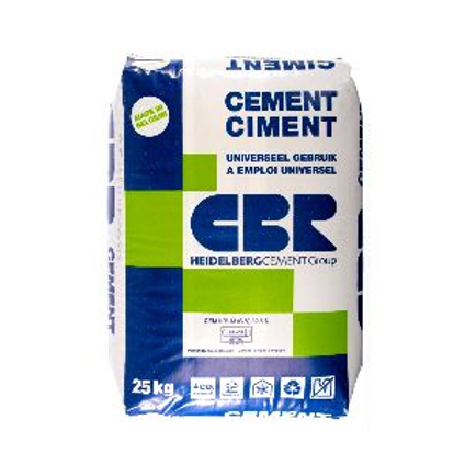 Ciment CBR CEM II 32,5N 25kg