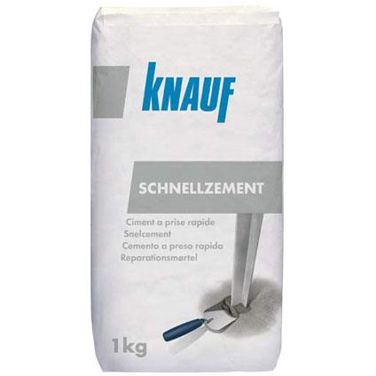 Ciment à prise rapide Knauf 1 kg