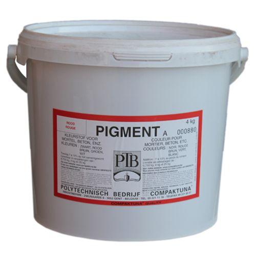 PTB kleurstof voor mortel en beton rood 4 kg